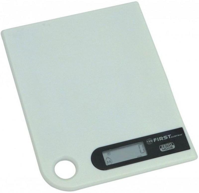 лучшая цена Весы кухонные First 6401-1 белый
