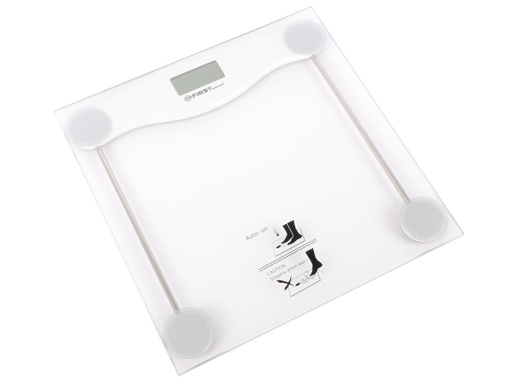 Весы напольные First FA-8013-3-WI белый весы напольные supra bss 6051 wh белый