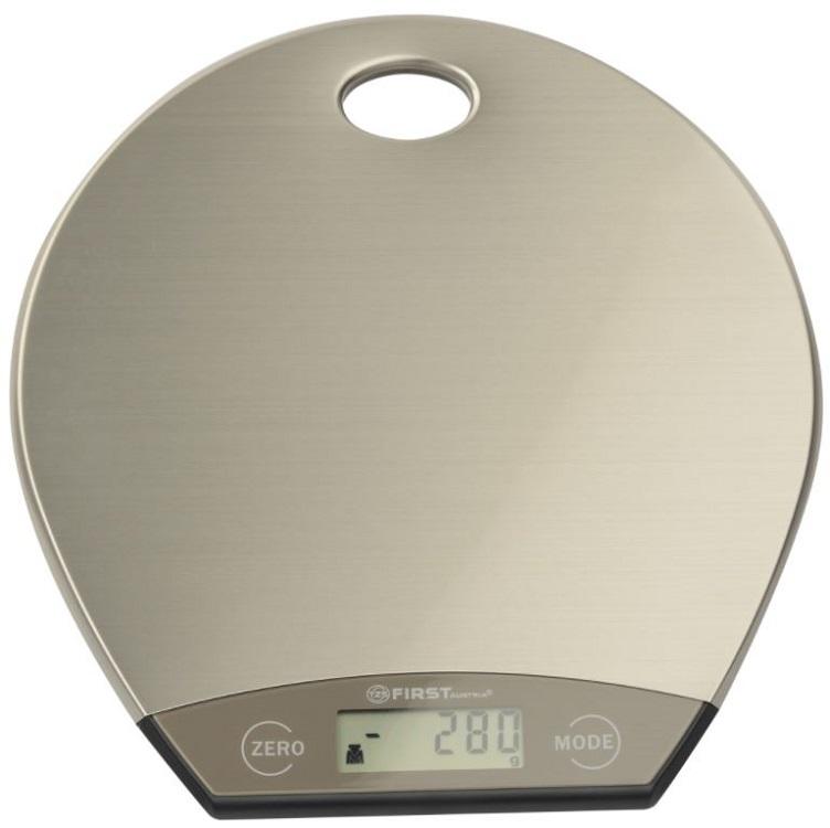 лучшая цена Весы кухонные First FA-6403-1 серебристый