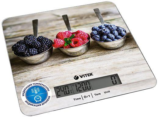 Весы кухонные Vitek VT-2429 MC рисунок весы кухонные vitek vt 8022 bk разноцветный