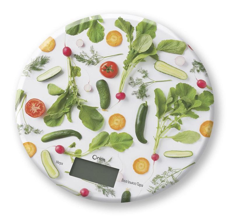 Весы кухонные Orion ВБК-СП05-5КГ рисунок весы maxima ms 067 рисунок