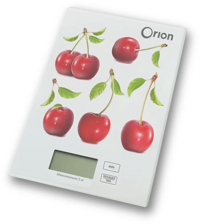 Весы кухонные Orion ВБК-СП04-5КГ рисунок весы кухонные salter 1046