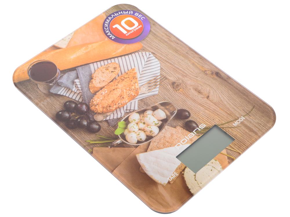 Весы кухонные Polaris PKS 1044DG, макс.вес 10кг, рисунок цена