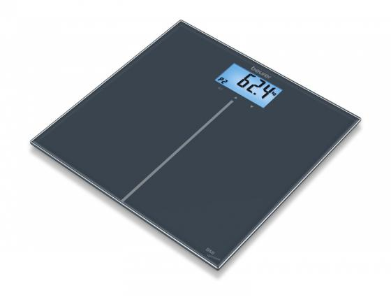 Весы напольные электронные Beurer GS280 BMI черный макс.180 кг