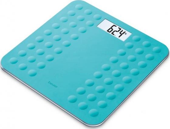 Весы напольные электронные Beurer GS300 бирюзовый макс.180 кг