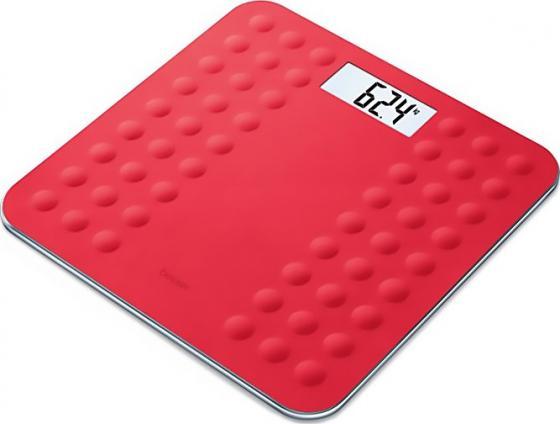 Весы напольные электронные Beurer GS300 красный макс.180 кг
