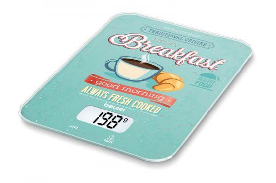 Весы кухонные электронные Beurer KS19 Breakfast