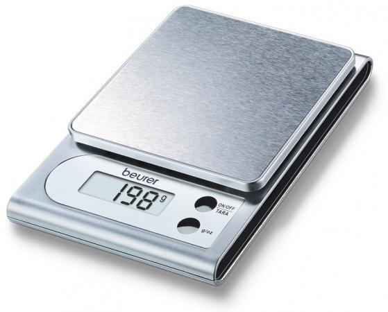 Весы кухонные электронные Beurer KS22 серебристый