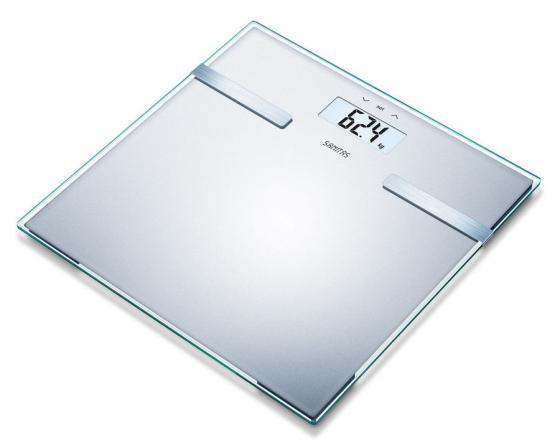 Весы напольные Sanitas SBF14 серебристый 180 кг