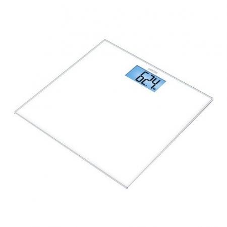 Весы напольные электронные Sanitas SGS 03 белый макс.150 кг