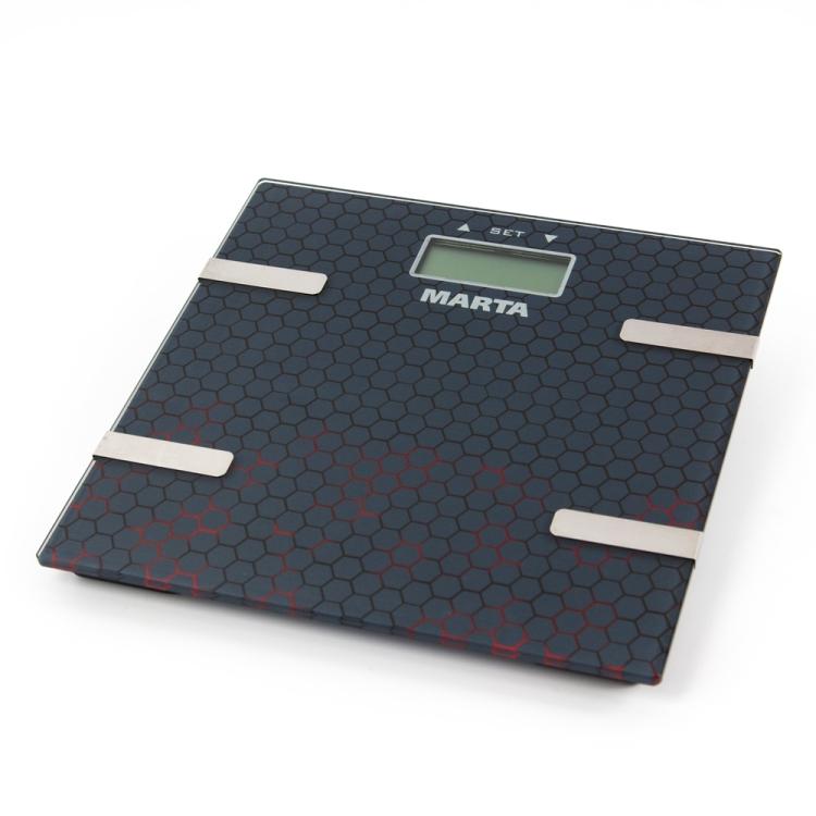 цена на Весы напольные Marta MT-1675 темный агат