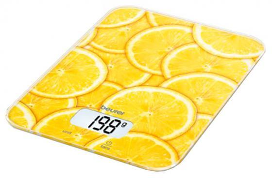 Весы кухонные электронные Beurer KS19 lemon