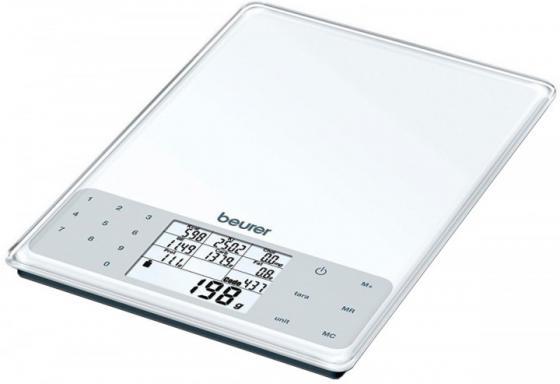 Весы кухонные электронные Beurer DS61 белый