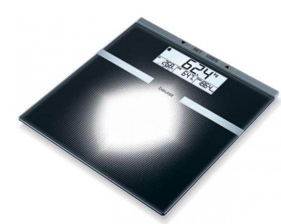 Картинка для Весы напольные электронные Beurer BG21 черный макс.180 кг