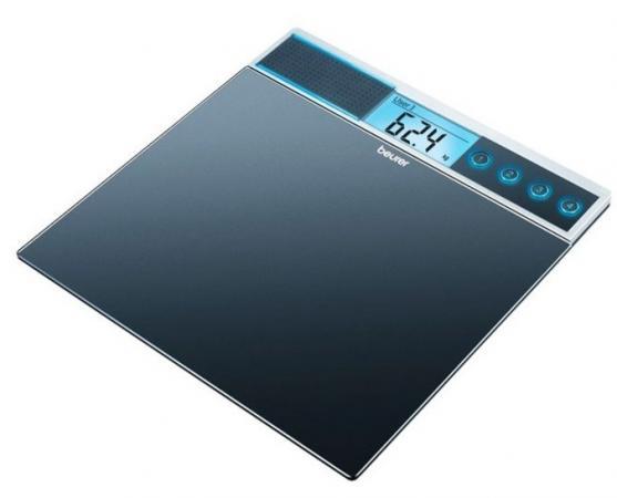 Весы напольные электронные Beurer GS39 черный макс.150 кг
