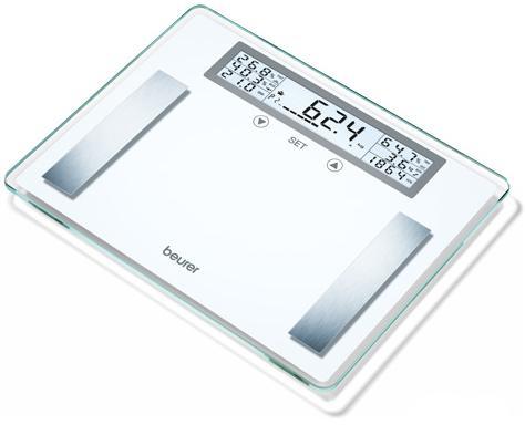 Весы напольные электронные Beurer BG51 XXL белый