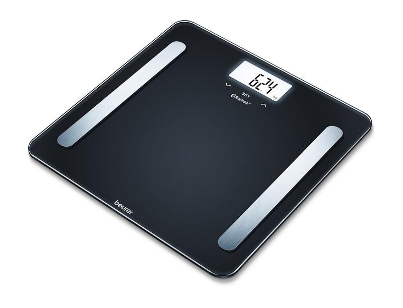 Весы напольные электронные Beurer BF600 черный макс.180 кг