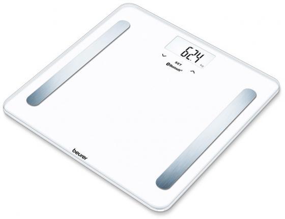 Весы напольные электронные Beurer BF600 pure белый макс.180 кг