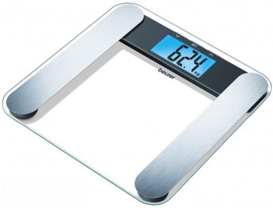 Весы напольные электронные Beurer BF220 прозрачный макс.180 кг
