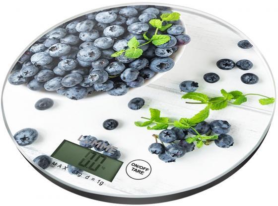 Весы кухонные Lumme LU-1341 черничная россыпь