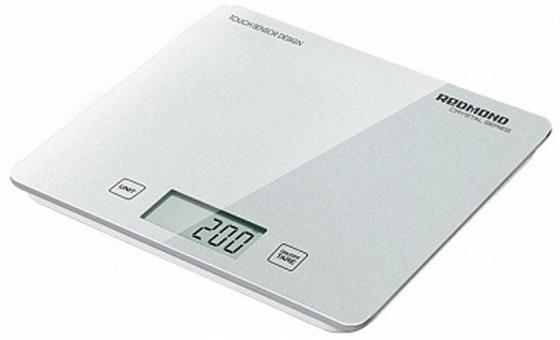 Весы кухонные Redmond RS-724-E белый цена и фото