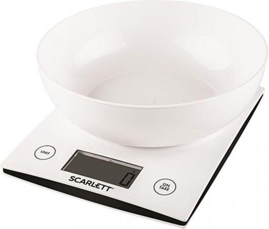 Весы кухонные Scarlett SC-KS57B10 белый цена и фото