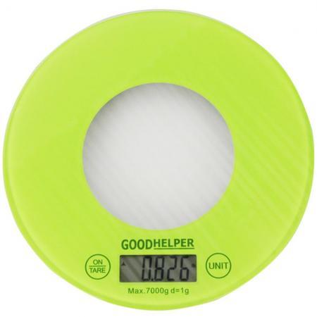 Весы кухонные Goodhelper KS-S03 зеленый