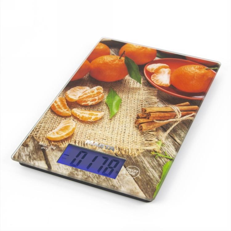 Кухонные весы MARTA MT-1633 сладкий мандарин весы кухонные marta цитрусовый фреш рисунок mt 1635
