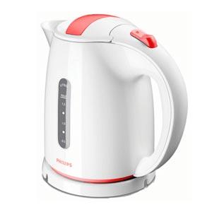 Чайник электрический Philips HD4646/40 мощность 2400Вт; объем 1.5л; пластик; фильтр от накипи, белый чайник электрический philips hd9302 2400вт серебристый и черный