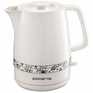 Чайник электрический POLARIS PWK 1731CC мощность — 2200Вт; объем — 1.7л; корпус — керамика, Цветы цены