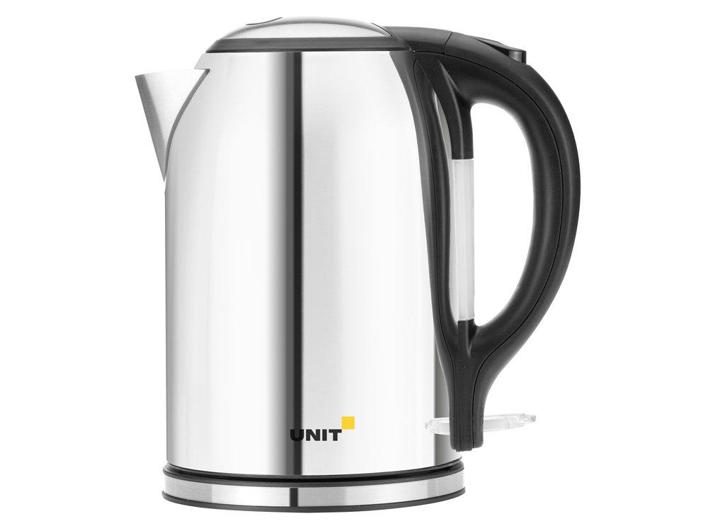 Фото - Чайник электрический UNIT UEK-266, Глянцевый; сталь, 1.8л., 2000Вт. чайник электрический unit uek 256 черный