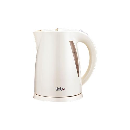лучшая цена Чайник Sinbo SK 7314, 2000 Вт., 1,7 л., пластик, закрытая спираль, белый