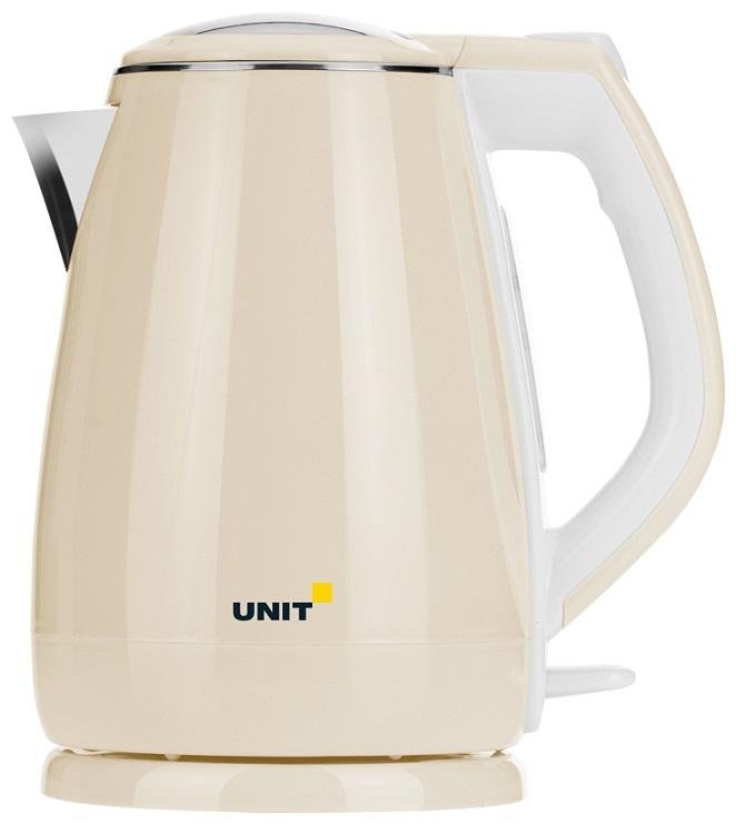 все цены на Чайник электрический UNIT UEK-269 Бежевый онлайн