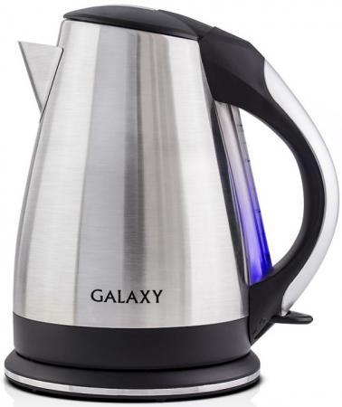 Чайник GALAXY GL0314 2200 Вт 1.8 л нержавеющая сталь серебристый чайник smeg стиль 50 х годов 2400 вт кремовый 1 7 л нержавеющая сталь klf03creu