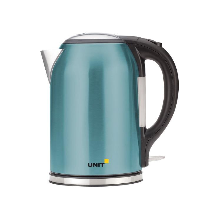 все цены на Чайник электрический UNIT UEK-270 Бирюзовый онлайн