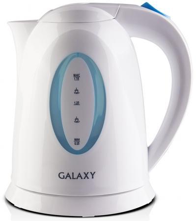 Чайник GALAXY GL0218 2200 Вт белый 1.7 л пластик чайник supra kes 1721 2200 вт белый 1 7 л пластик
