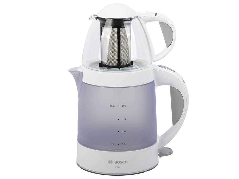 Чайник Bosch TTA2201 1785 Вт набор белый серый 2 л пластик чайник bosch twk8611p 2400 вт белый 1 5 л металл