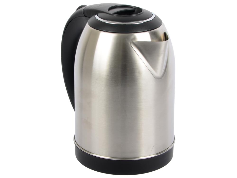 Чайник Maxwell MW-1077 (ST), 2200 Вт., 1,8 л., сталь