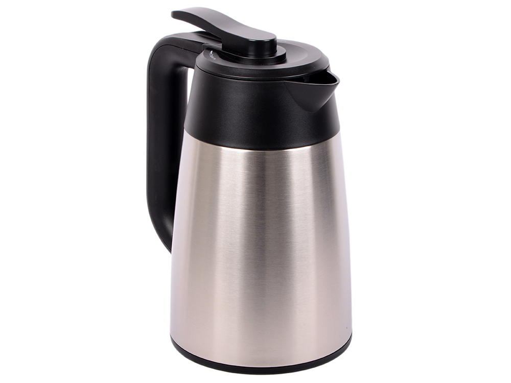 Чайник Kitfort KT-620-2, 2200вт, 1.7л, серебристый/черный чайник kitfort kt 609