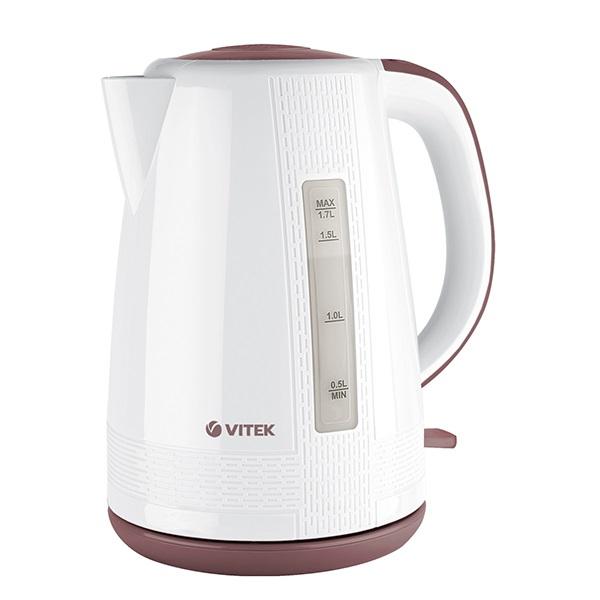 лучшая цена Чайник Vitek VT-7055 (W), Мощность 2150 Вт (макс.) Макс. объем 1,7 л.