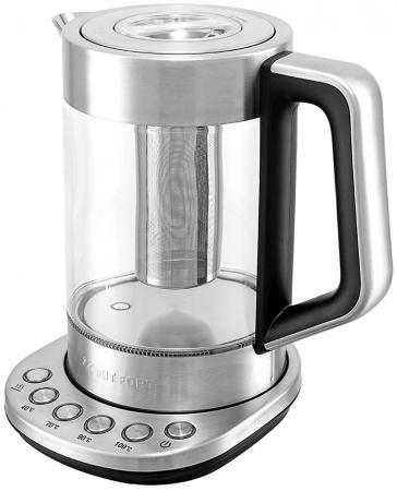 Чайник Kitfort KT-622, 2200Вт, 1.7л, стекло чайник kitfort kt 609