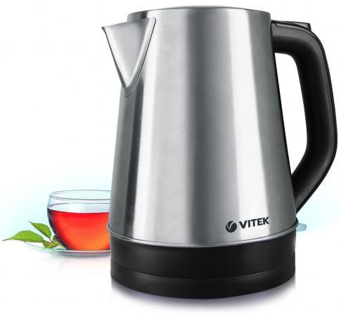 Чайник Vitek VT-7040 ST Серебристый 2200 Вт, 1.7 л металл