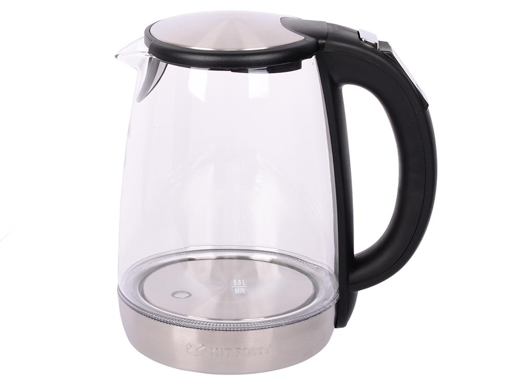 Чайник Kitfort КТ-628 2200 Вт цена и фото