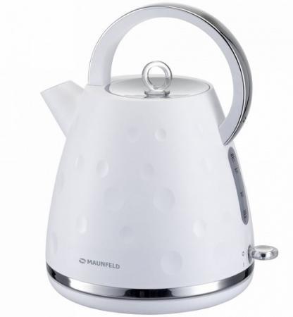 Чайник Maunfeld MFK-647WH белый 2200 Вт, 1.7 л marttiini mfk size 2