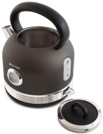 Чайник электрический Kitfort КТ-634-1 1.7л. 2150Вт графит