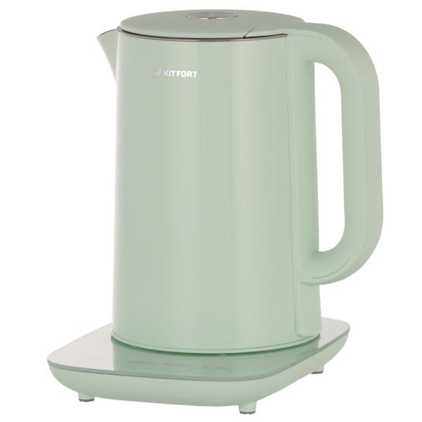 Чайник Kitfort КТ-629-2 мятный 1800 Вт 1,5 л barinoff сироп мятный 1 л