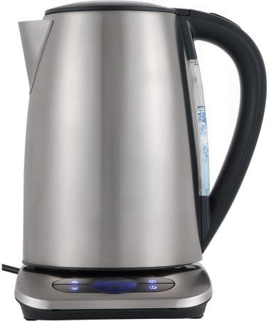 Чайник электрический Polaris PWK 1788CAD серебристый 1.7л, 2200 Вт, корпус: нержавеющая сталь цены
