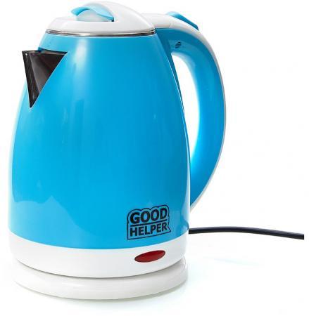 Чайник электрический Goodhelper KPS-180C голубой 1500 Вт, 1.8 л цена и фото