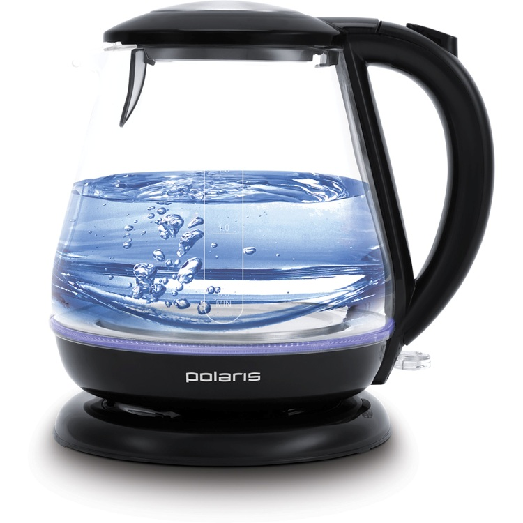 Чайник электрический Polaris PWK 1859CGL 1.8л. 2200Вт черный (корпус: стекло)