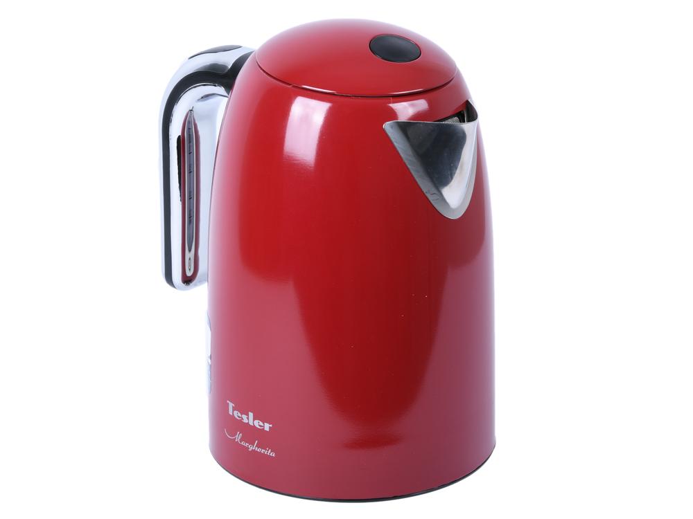 лучшая цена Чайник TESLER KT-1755 RED